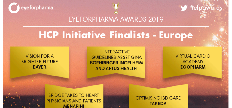 CredoWeb Project - Finalist in eyeforpharma Awards